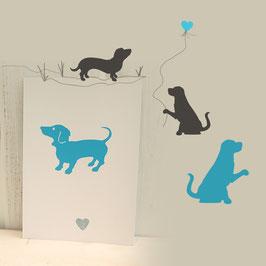 Kartenset Hunde
