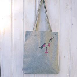 Tasche mit Rotkehlchen