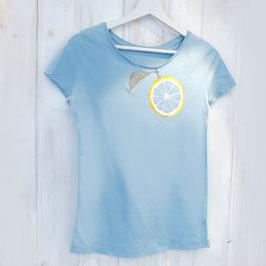 Ausgefallenes T-Shirt mit Zitrone