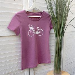 Ausgefallenes T-Shirt mit Hollandrad