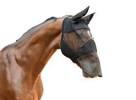 Fliegenmaske mit Ohren- u. Nüsternschutz