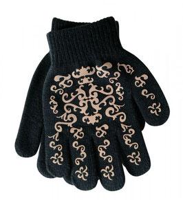 elastischer Handschuh mit Print