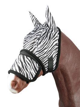 Fliegenmaske Zebra