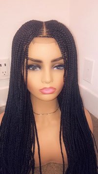 28 Inch Tribal Cornrow - Middle Part