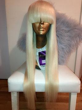 #613 Blonde - Straight Bang Unit