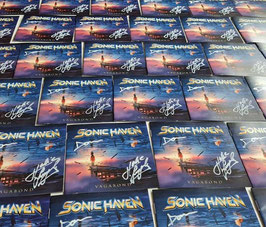 Signed Copy of Sonic Haven VAGABOND (CD)
