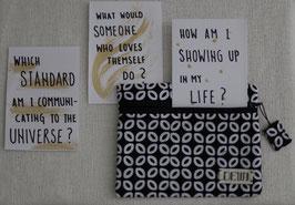 Batik Pouch KAWUNG + 3 inspiration card
