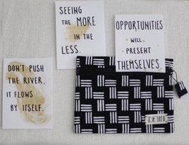 Batik Pouch PRING + 3 inspiration card