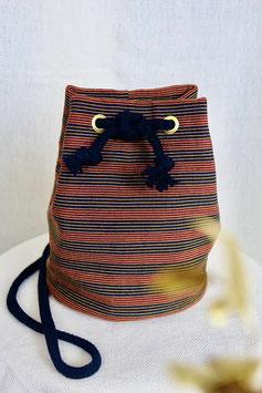 Lurik Bucket Bag - Telupat Lajur