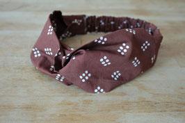 Hairband ENAM TITIK in brown