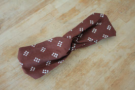 Hairband ENAM TITIK in brown