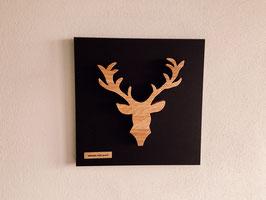 Schwarz.Wald.Gweih Hirsch Best-Nr. 13122019