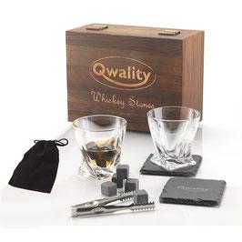 Luxe Whiskey Stenen Set