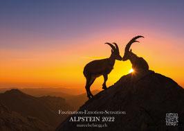 Wandkalender 2022  Faszination-Emotion-Sensation  ALPSTEIN 2022