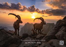 Wandkalender 2021  Faszination-Emotion-Sensation  ALPSTEIN 2021