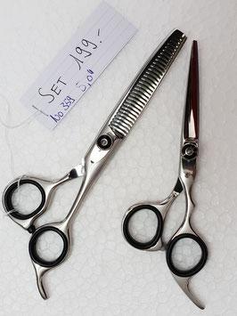 """559 Haarscheren Set  5.0"""" + Effilier"""
