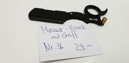 36 Messer mit Griff