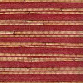 "Bambus Tapete ""Aisu"", rot"