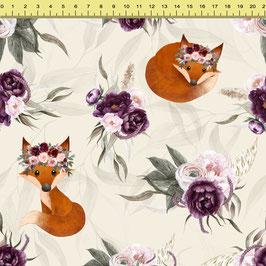 """Vorbestellung """"Fox Violet"""" Eigenproduktion Sommersweat"""