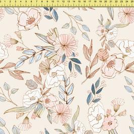 """Vorbestellung """"Flower Pastell"""" Eigenproduktion Sommersweat"""