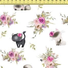 """Vorbestellung """"Cute Cats"""" Eigenproduktion Sommersweat"""