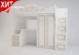 Кровать-чердак Ромео большой RM-04, правый