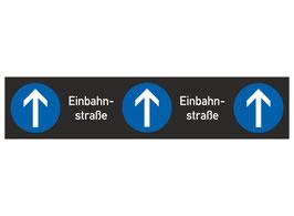 Markierungsstreifen Einbahnstraße, rutschemmend und rückstandsfrei wieder zu entfernen
