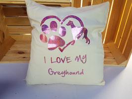 """Kissen """"Greyhound 2"""""""