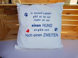 "Kissen ""Zwei Hunde"""