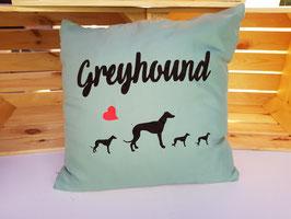 """Kissen """"Greyhound"""""""