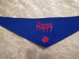 Hundehalstuch Gr. S, Happy
