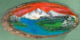 Berg-Panorama nach Bob Ross