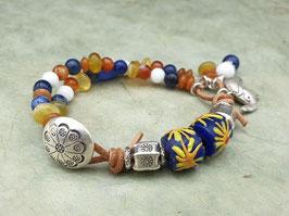 Armband bunte Trade Beads