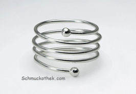 Charm Spiral Ring 925