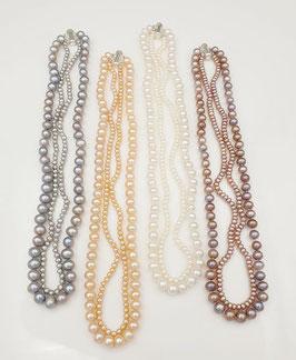 Perlenkette Glamour