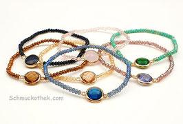 Kristallauge Armband