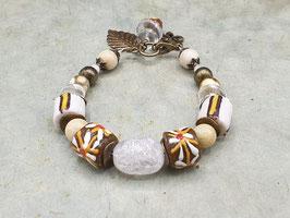 Boho Armband Afrika Kroboperlen