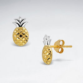 Ohrstecker Ananas