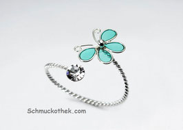 Schmetterling mit Kristall