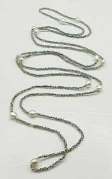 Kristallstar Halskette