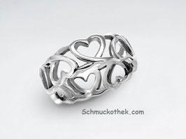 Romantischer Herzen-Ring