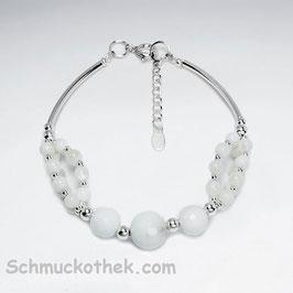 Armkette Weißer Onyx