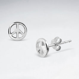 Ohrstecker Peace