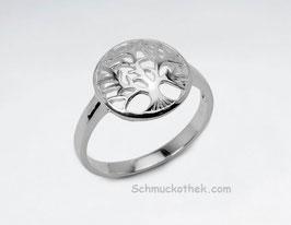 Baum des Lebens Ring Silber