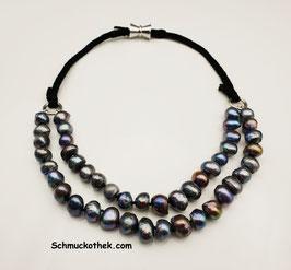 Perlenduett Orient Halskette