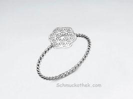 Blume des Lebens Ring