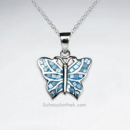 Blauer Schmetterling Anhänger