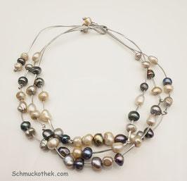 Perlentwist Halskette