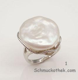 Coinperlen Ring