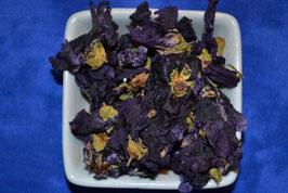 Malvenblüten blau mit Kelch PhEur